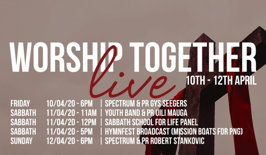 Worship Together Live 2020 (12/04/2020)