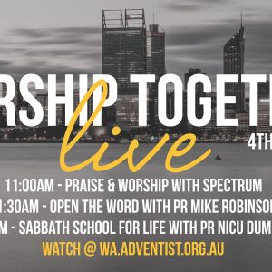 Open the Word with Pr Mike Robinson